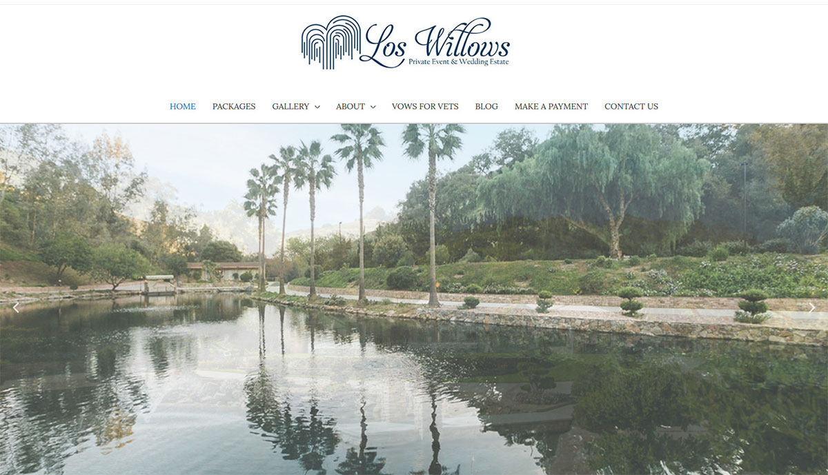 Los Willows Wedding Venue