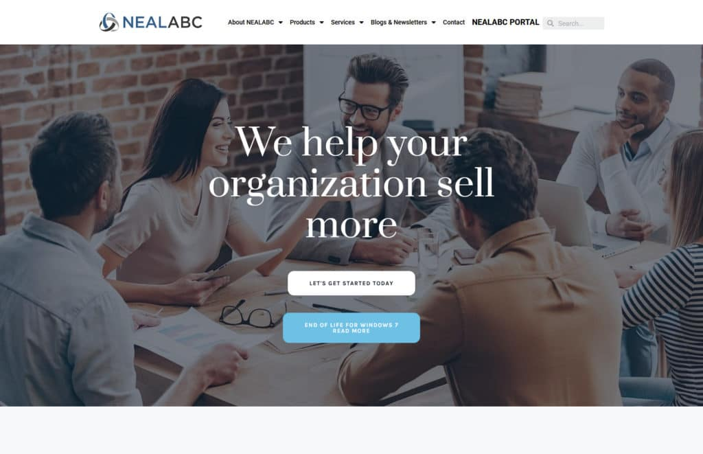NealABC Website development