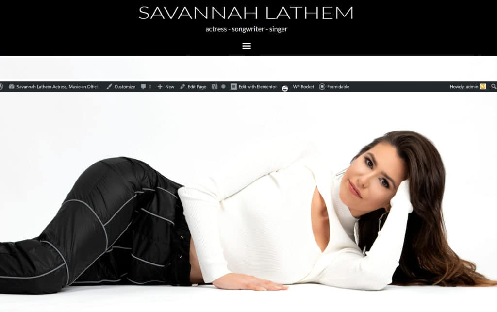 Savannah Lathem Official website